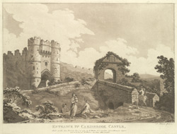 Entrance to Carisbrook Castle